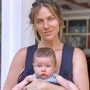 Giovanna Ewbank ironiza trabalho na maternidade: 'Facinho com bebê recém-nascido'