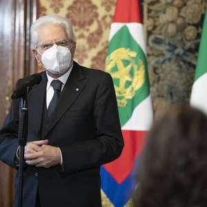 Presidente da Itália condecora cidadãos por empenho ...