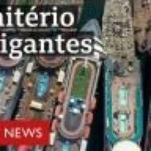 Os navios gigantescos que a pandemia mandou para o desmanche