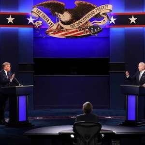 Trump e Biden terão microfones silenciados em segundo debate