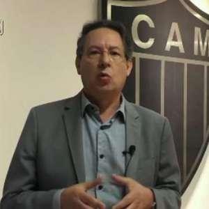 Vice do Atlético-MG reclama de pênalti e ataca Gaciba
