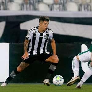 Botafogo e Goiás não saem do zero pelo Brasileirão