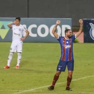 VÍDEO: Veja os gols da vitória do Bahia contra o Atlético-MG