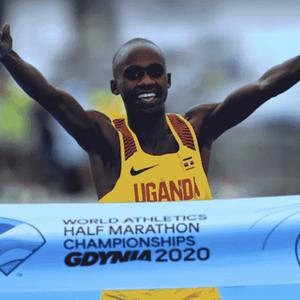 Jacob Kiplimo surpreende no Mundial de Meia Maratona