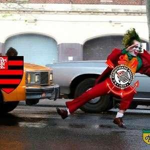 Corinthians não escapa das zoações após ser goleado pelo Flamengo