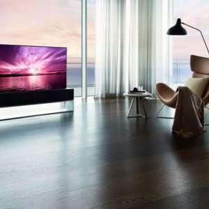 LG lança Signature OLED R, TV 4K OLED enrolável bem cara