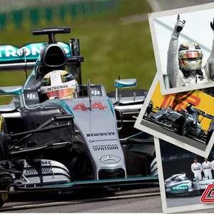 Mercedes W06: o carro do tri de Hamilton e da ...