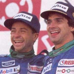 Na Garagem: Em Suzuka, Piquet e Moreno formam última ...