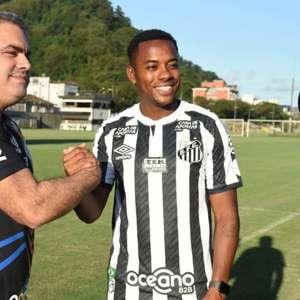 Presidente do Santos fala sobre Robinho, considera ...