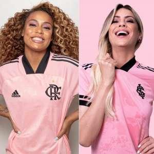 """""""Uniformes rosa"""" aumentam vendas de clubes em 77% em ..."""
