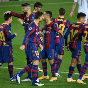 Técnico do Barça elogia time, mas diz que rendimento ...