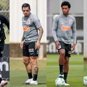 De olho em volta por cima, Corinthians pode reeditar quarteto defensivo após cinco anos