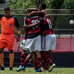 Sub-20: Flamengo goleia o Boavista por 6 a 1 pela Taça Rio