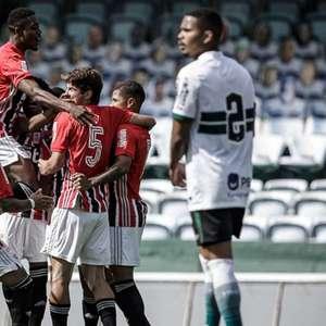 Tricolor empata com o Coritiba pelas oitavas da Copa do ...