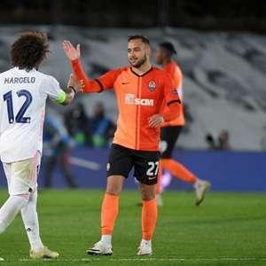 Maycon celebra vitória do Shakhtar sobre o Real Madrid ...