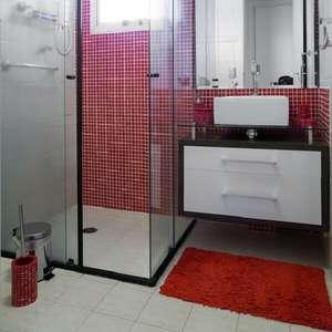 Banheiro Vermelho: +63 Dicas e Modelos Lindos para se ...