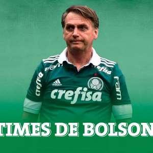 Veja as camisas que o presidente Bolsonaro já vestiu