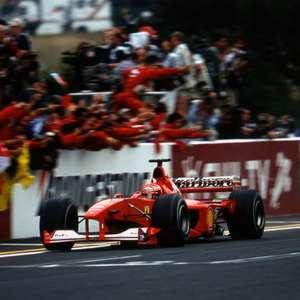 Paciência de Schumacher para reconstruir Ferrari foi ...