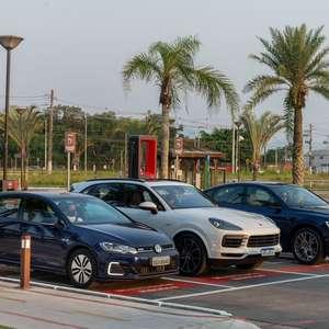 Grupo Volkswagen inaugura rede de recarga ultrarrápida