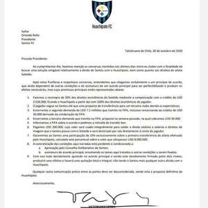 Conselho do Santos aprova negociação com o Huachipato ...