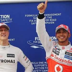 "Schumacher fez ""serviço duro"" em passagem pela Mercedes ..."