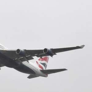 Avião da British Airways é reciclado para ser usado como set de filmagens