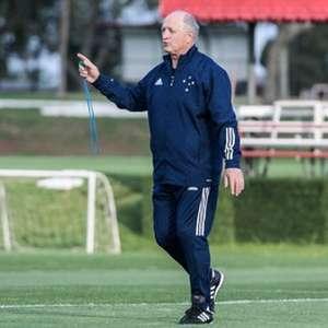 Felipão faz avaliação do Cruzeiro para verificar a necessidade de contratar reforços