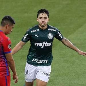 Melhor em campo, Veiga fala sobre momento do Palmeiras: ...
