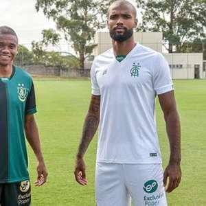América-MG estreia nova camisa no duelo contra o Confiança-SE