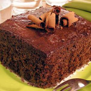 Bolo de chocolate geladinho