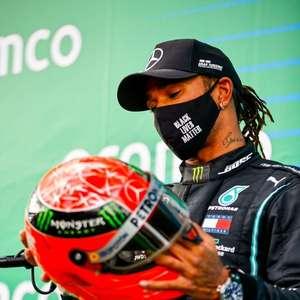 Hamilton e Schumacher são exterminadores de gerações na F1