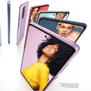 Galaxy S20 FE apresenta falhas na tela; Samsung promete ...
