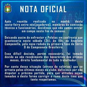 Por atraso de salário, atletas do São Caetano decidem ...