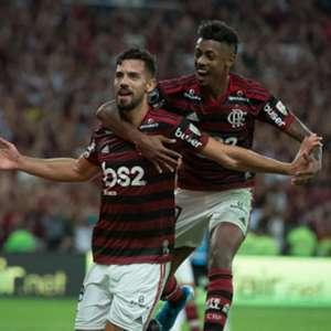 Há um ano, Flamengo vencia o Grêmio por 5 a 0 e partia ...