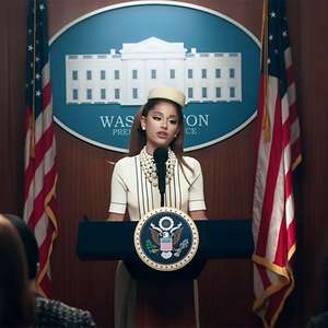Ariana Grande vira presidente dos EUA em novo clipe