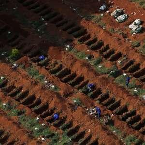 Brasil registra 513 mortes por covid-19 em 24h