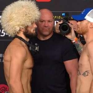 Khabib e Gaethje disputam cinturão peso-leve no UFC 254