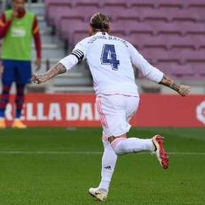 Sergio Ramos decide e Real Madrid vence o Barcelona