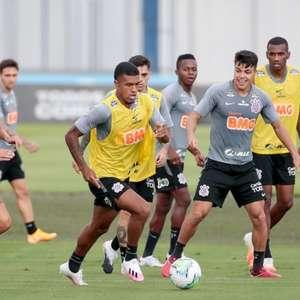 Corinthians volta a treinar em dois períodos com foco na ...