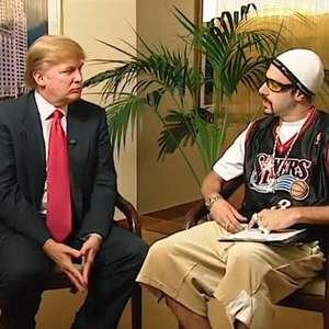 Donald Trump diz ser o único que Sacha Baron Cohen não ...