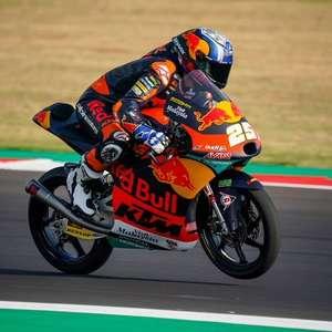 Fernández domina e crava pole no GP de Teruel de Moto3. ...