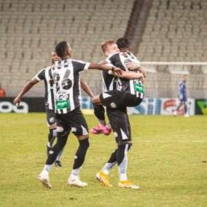 VÍDEO: Confira os gols da vitória do Ceará contra o Coritiba