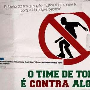 Torcida do Fluminense se manifesta contra Santos e ...