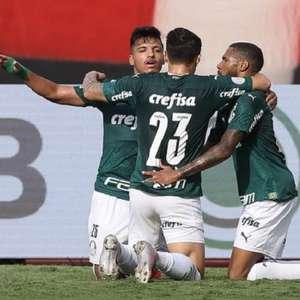Palmeiras quebra jejum no Brasileiro e bate o Atlético-GO