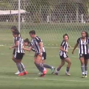 Botafogo goleia Goiás no retorno da Série A2 do ...