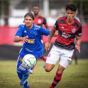 Flamengo derrota o Cruzeiro no Rio pelo Brasileiro sub-20