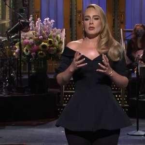 'Sei que pareço muito diferente', diz Adele no 'Saturday ...