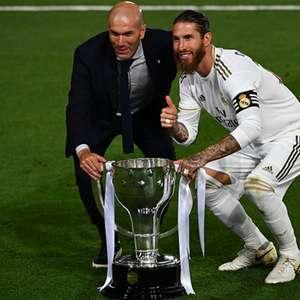 Sergio Ramos quer renovar com o Real Madrid, mas tempo ...