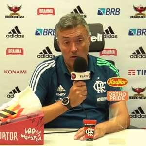 'Perdemos dois pontos. O Flamengo tem que ganhar todos ...