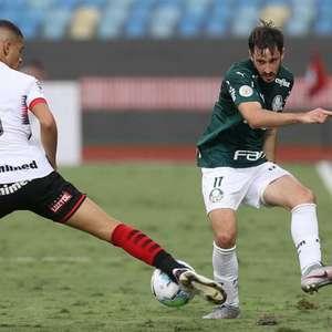 Após 21 partidas, Palmeiras volta a ficar dois jogos ...